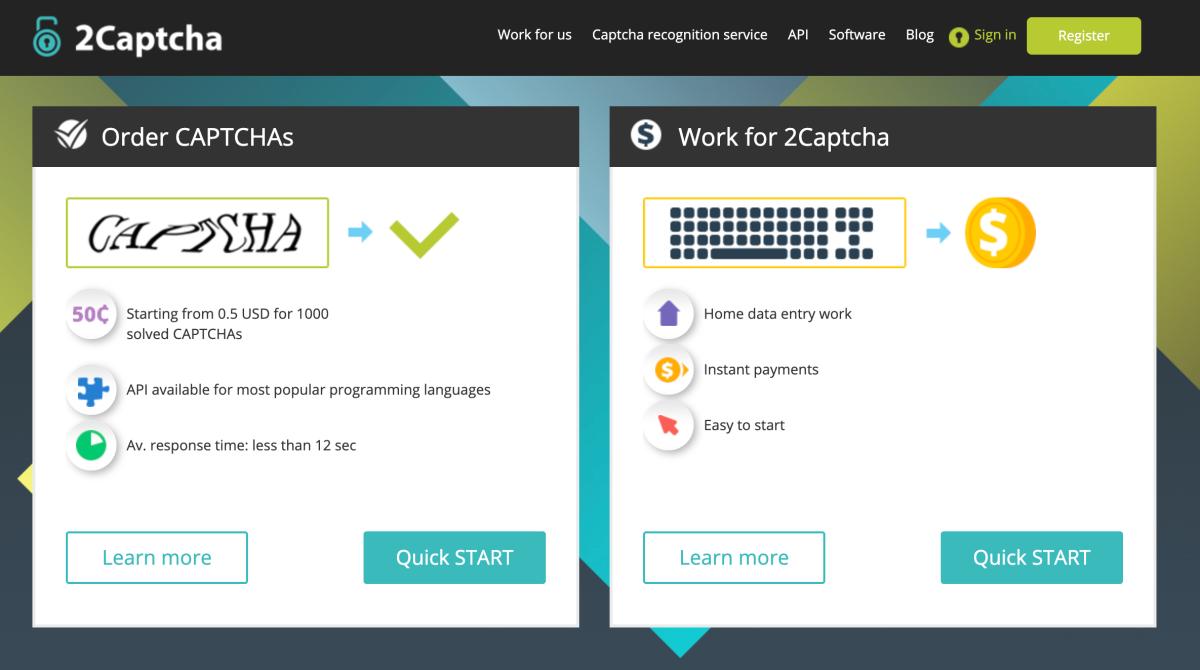 Veja como ignorar Captcha de sites com o2Captcha